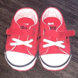 NWOT size 4 Polo Ralph Lauren baby shoes